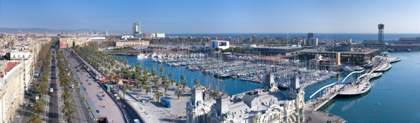 barcelona-view-port