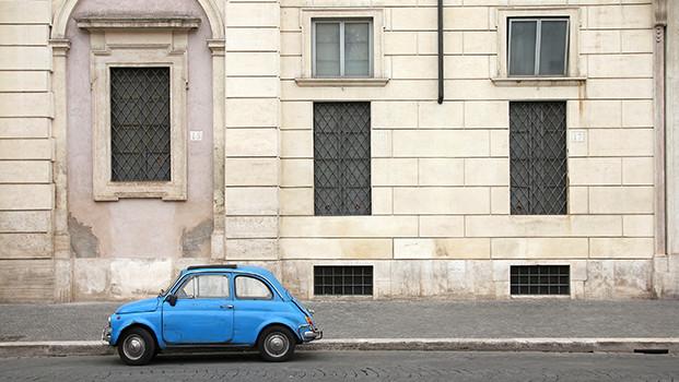 Fiat 500 beim privatem Carsharing